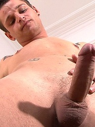 In the bedroom Olivers dirty secrets come pouring out, he loves to 69 and bury his tongue in some fit guys arse! Big cocks are his major turn on and I think he has come to the right place as here at BLAKEMASON we too are all about the cock...