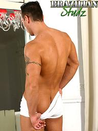 Brazilian stud Cesar Santos