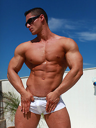 Logan Lewis ripped latin pretty boy